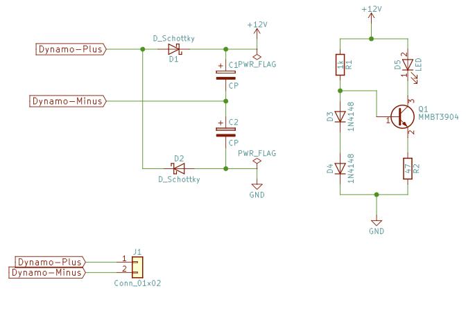 Speckbert | Elektronik | Einfaches Fahrradrücklicht
